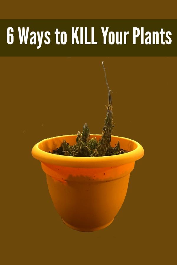 Pin kill plants